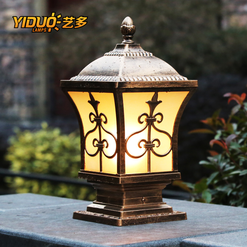 Chapiter european villa garden lights garden lights led lamp post lights door lights outdoor waterproof wall lamp landscape