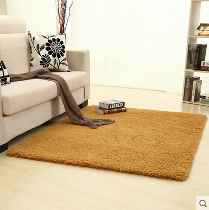 Cheap living room coffee table minimalist bedroom bedside paved a solid color beiji rong thick rectangular slip carpet suck water
