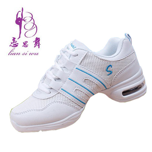 Cheap white dance shoes modern dance square dance shoes dancing shoes soft bottom increased mesh shoes hot summer