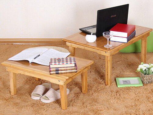 Chen yi gifted bamboo wood folding table computer desk laptop desk simple home in bed with a small table kang kang