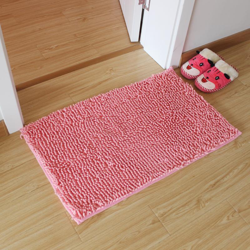 Get Quotations Chenille Bath Mats Doormat Living Room Bedroom Bathroom Slip Absorbent Floor
