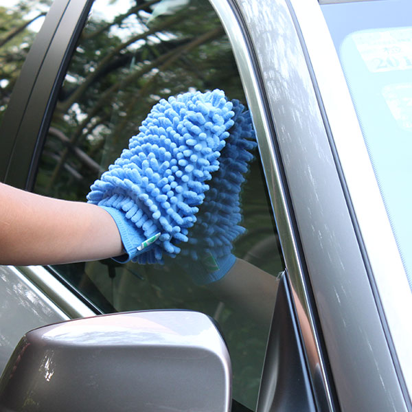 Chenille wash mitt sided coral velvet gloves cleaning tools clean rag to wipe the table scouring cache towels wash supplies