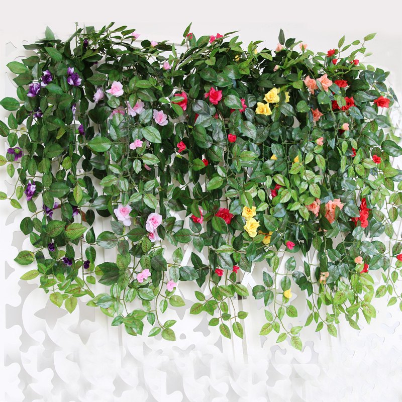 Cher rather artificial flowers artificial flowers living room simulation flower vine wall decorative flowers roses flower vine rattan vines hanging spider