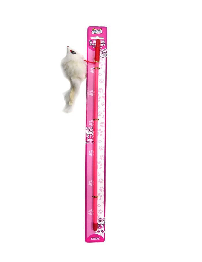 Chiba fur mouse funny funny cat pole cat toy cat funny cat stick pet cat pet cat toy mouse emulation