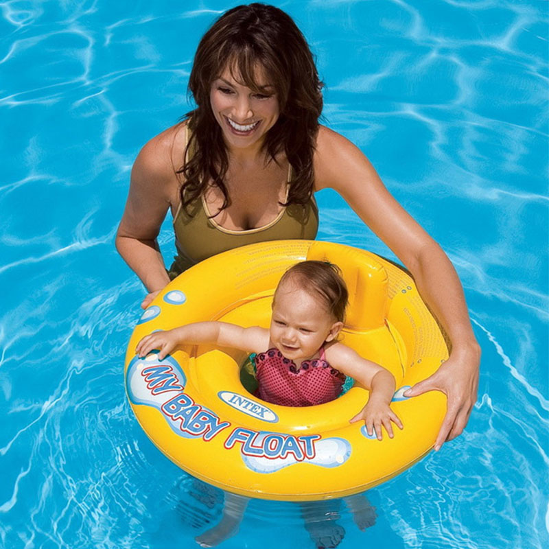 Children 0--6 years old children thickening infant swim ring seat ring life buoy baby swim ring sitting circle armpit