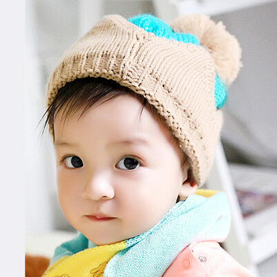 f1a4cad67e8 Get Quotations · Children baby hats wool hat knitted baby hat winter autumn  baby hat infants and children hat