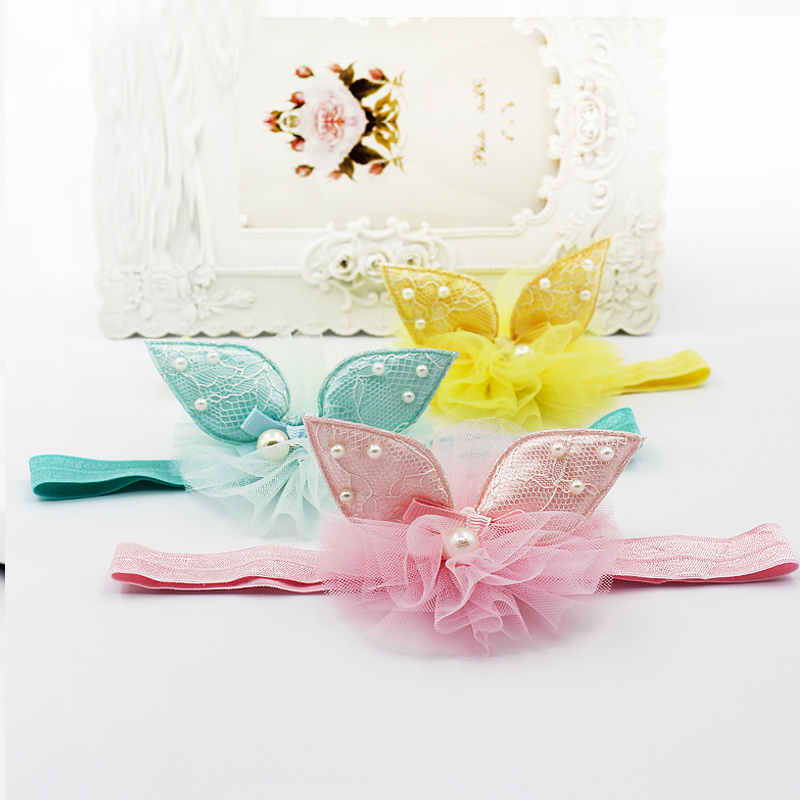 Children children's hair band princess tiara flower girl princess tiara hair band baby hair band