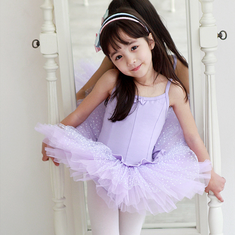 Children's ballet skirt girls dance clothes dance clothes and autumn and summer clothing chinese dance performances out clothes kids short sleeve