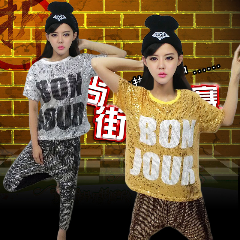 Children's hip-hop dance performance clothing children's costumes hip-hop hip-hop hip-hop clothing children sequined costumes