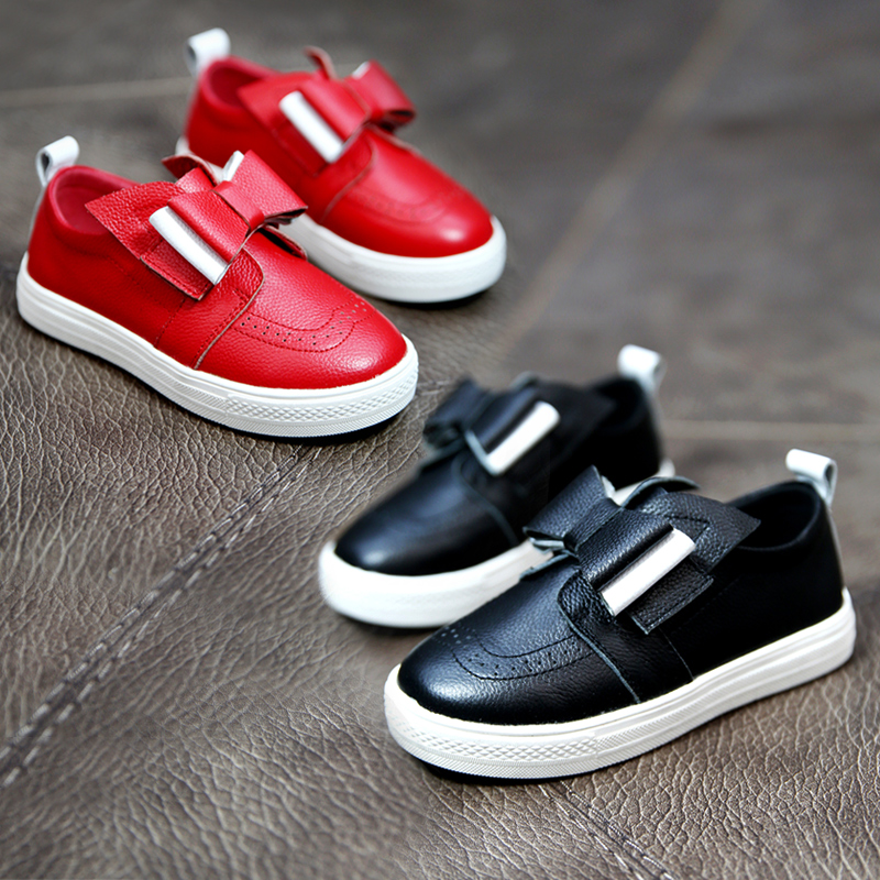 Children's shoes girls shoes spring 2016 korean children's leather shoes casual shoes tide plate shoes women casual shoes student