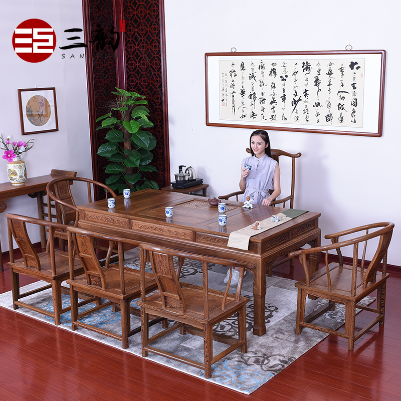 Chinese antique wood furniture mahogany furniture wenge wenge furniture mahogany tea table wenge wood tea table 200