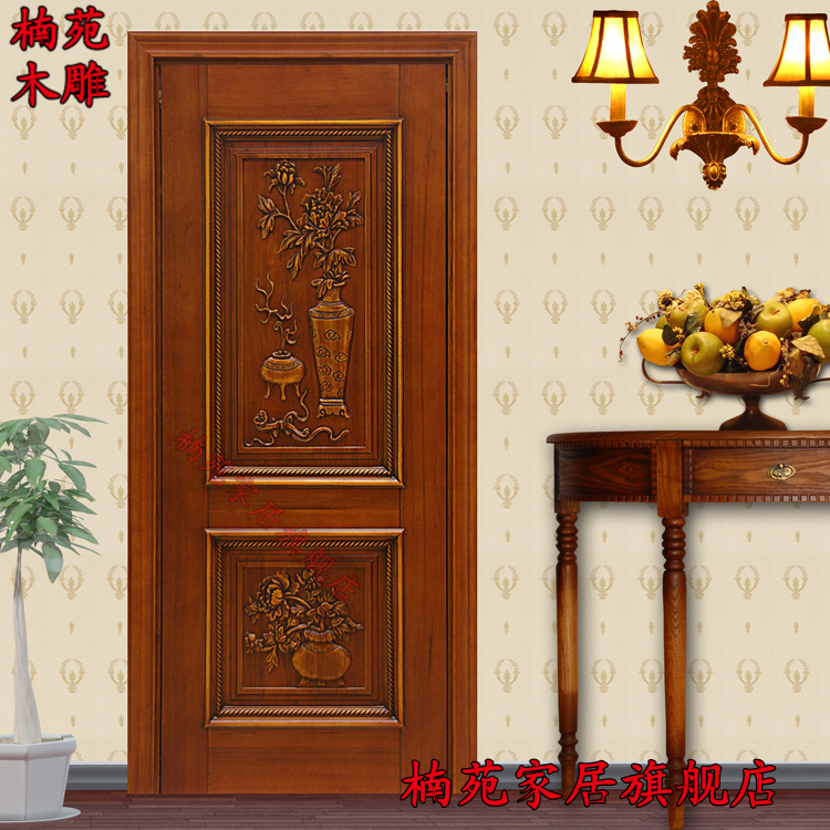 Chinese decoration dongyang wood mahogany interior doors wood doors custom wood doors chinese antique carved doors