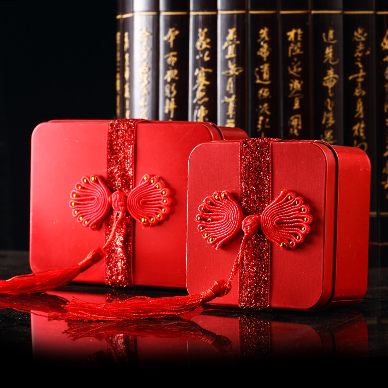 Chinese tin candy box creative personalized wedding candy box wedding wedding chinese wedding candy box creative 2014
