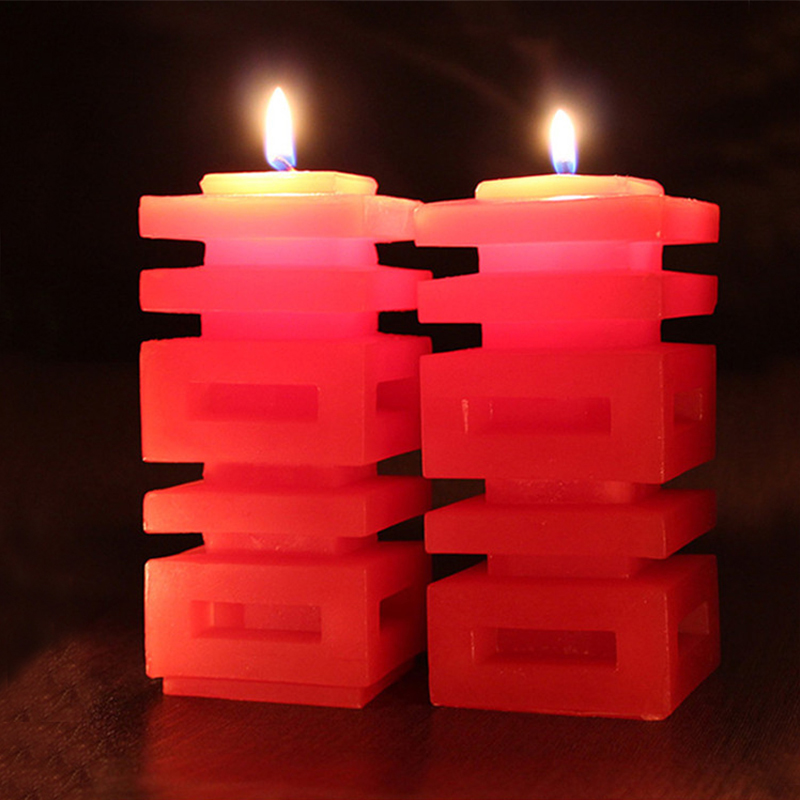 Chinese wedding supplies hi word retro candle wedding candle hi word candle creative marriage room