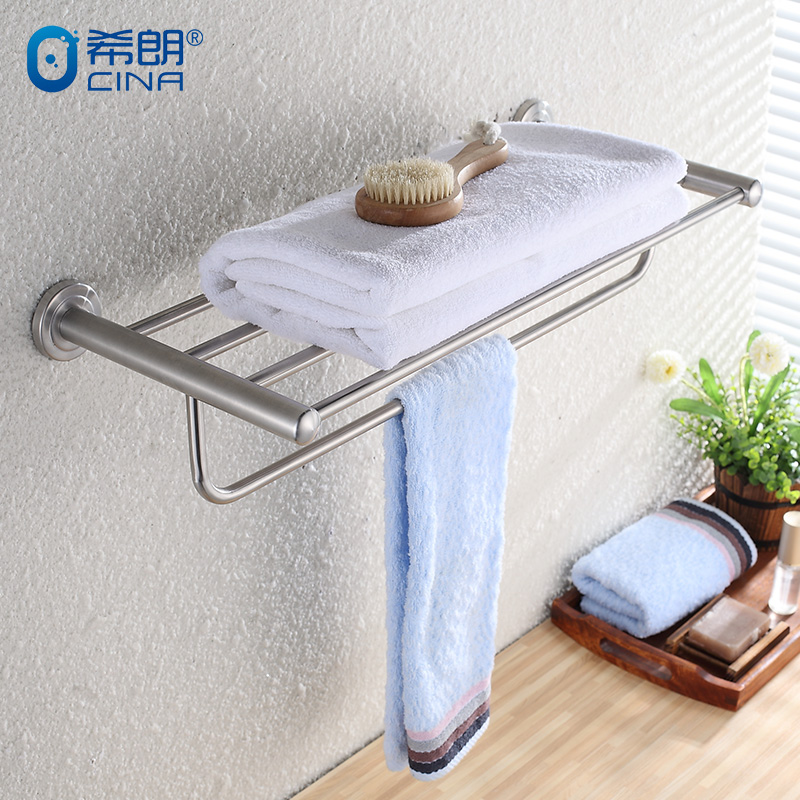 Chirens bathroom pure 304 brushed stainless steel towel rack towel rack towel rack bathroom towel rack bathroom hardware accessories kit