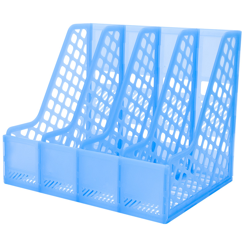 Get Ations Chong Yi Quadruple File Box Basket Data Frame Creative Office Supplies Desktop Holder Doent
