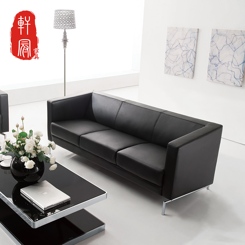 Chongqing shanghai entrepreneurship office furniture minimalist modern office sofa sipi business reception parlor sofa sofa