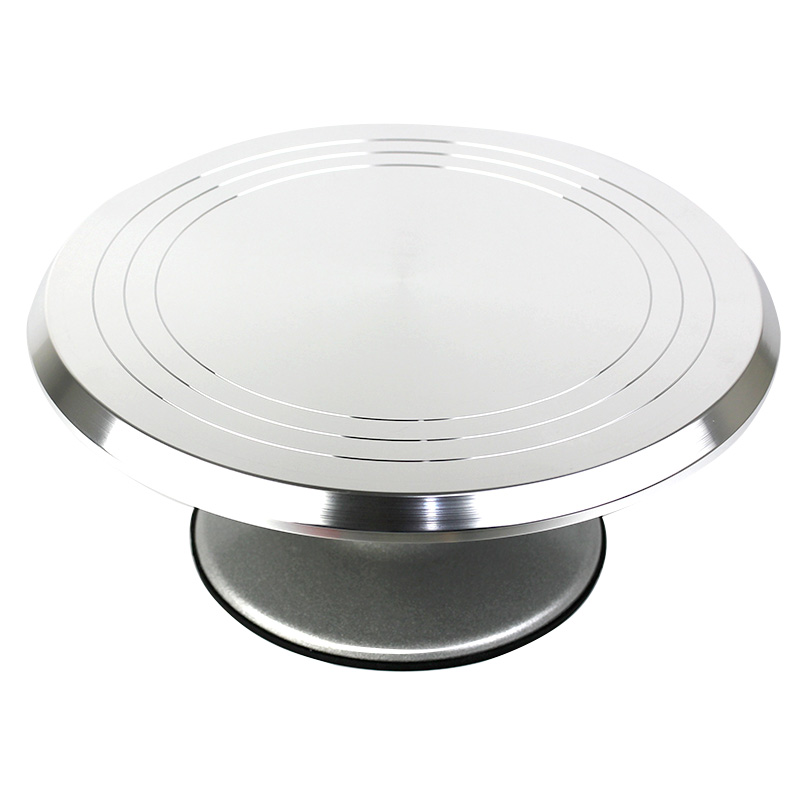 Christie than 12 inch aluminum decorating turntable turntable slip cake decorating baking tools decorating flower