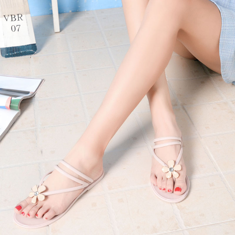 42e1d80a24c4 Get Quotations · Chuo wheat hui cho korean ladies casual sandals and  slippers female summer flip flops sandals