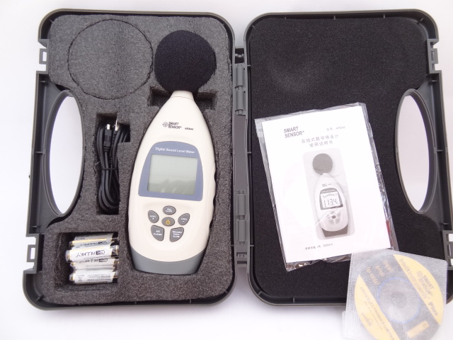 Cima AR844 decibel sound level meter noise meter noise tester with usb storage