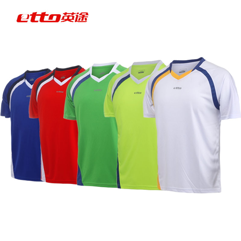Clothes light board soccer jersey number printed buy etto english way men and ladies jersey short sleeve jersey football clothes