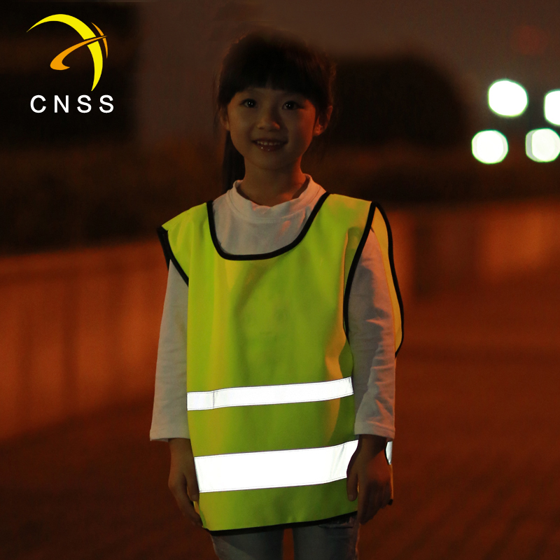 Cnss dominic reflective vests reflective vests reflective traffic vest clothing infant children schoolchildren safety vest can print