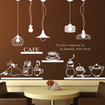china coffee wall stickers, china coffee wall stickers shopping