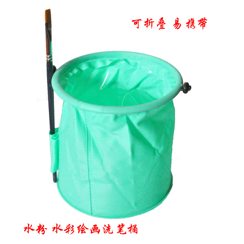 Collapsible plastic bucket plastic bucket wash pen barrel laundry and small bucket wash pen barrel trumpet without grid