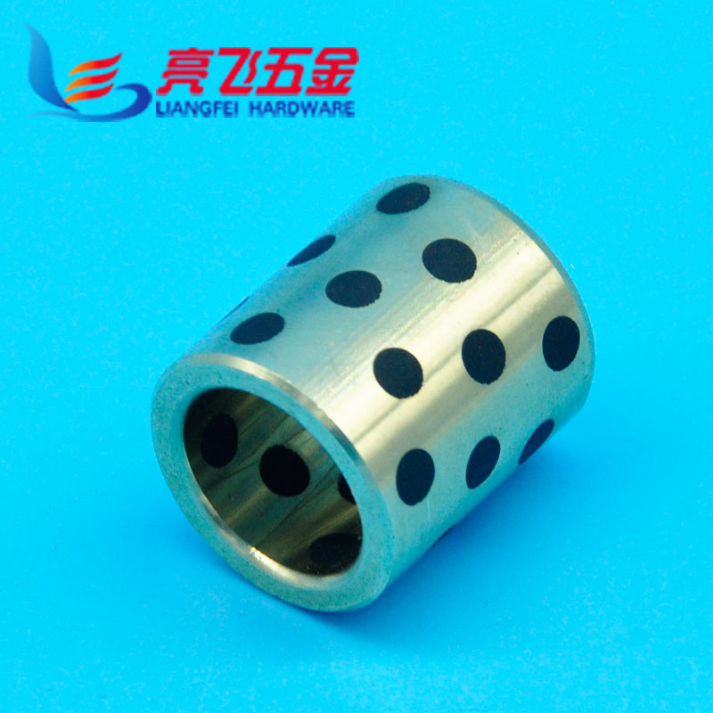 Colliers jdb solid self lubricating graphite bushings copper graphite copper sleeve 25MM of good quality inner diameter 16--25mm