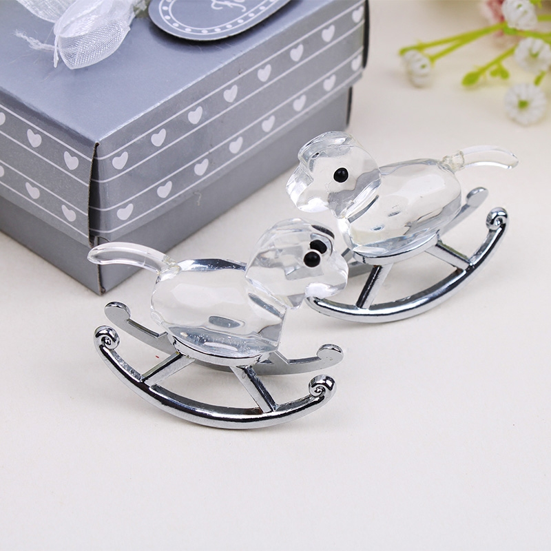 Commodities ni baby child tong qingsheng favor wedding supplies wedding gift crystal shook carriage ornaments decorations