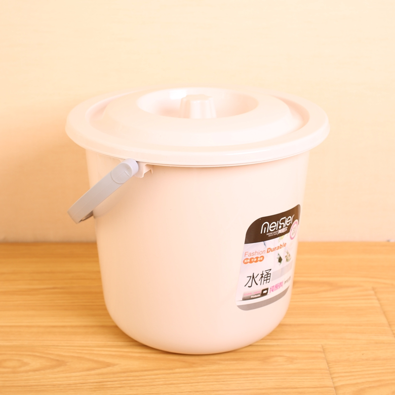 Continental thick mop bucket with lid plastic bucket to mention buckets pails fashion plastic water bucket bath barrel shipping