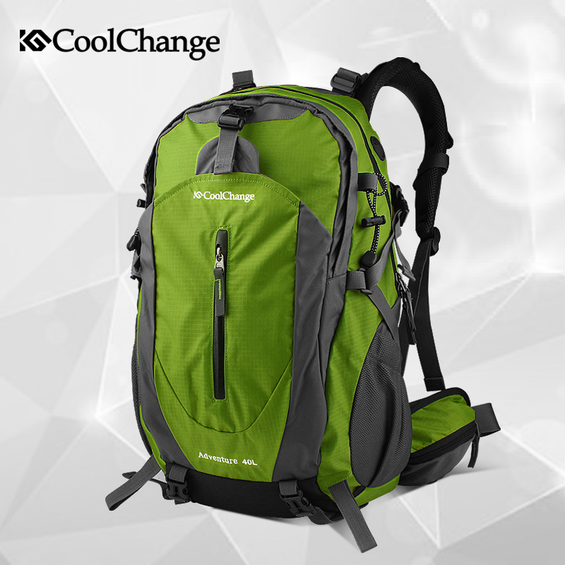 Cool change riding bicycle backpack backpack breathable shoulder bag bike bag bicycle accessories mountain bike riding package