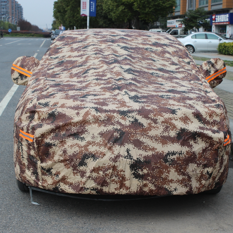 Cool road chak toyota corolla reiz crown prado yi zhi camouflage sewing rain and snow proof car overclothes burglarproof