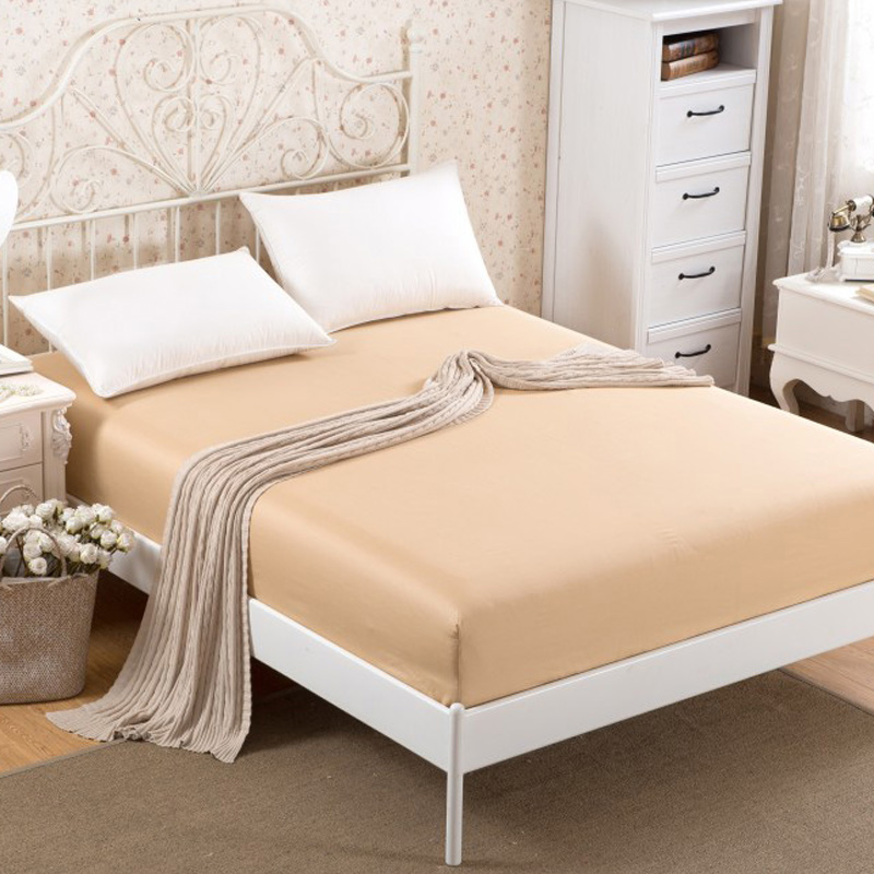 Cotton bed li single piece of cotton bed linen bedspread simmons mattress sets solid thick protective sleeve 1.8m2.0 meters
