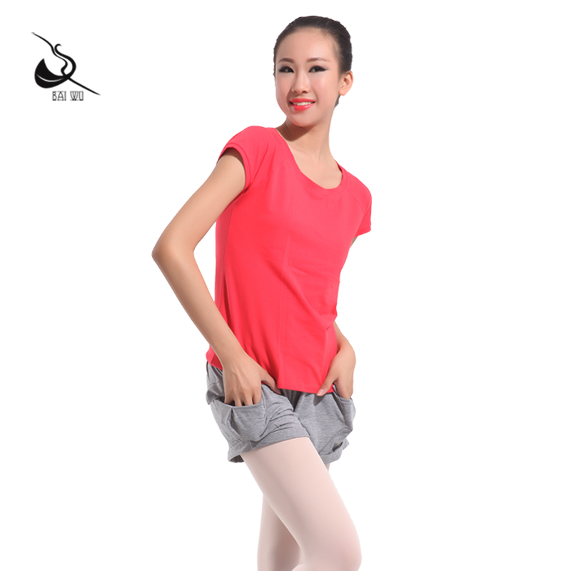 Court parker house dance ms. short sleeve t-shirt short sleeve running fitness yoga indoor and outdoor yoga clothes short sleeve