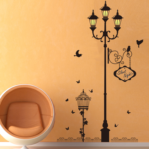Cozy bedroom wallpaper background wallpaper the living room wall stickers wall stickers klimts wave man room wall decor removable wall stickers