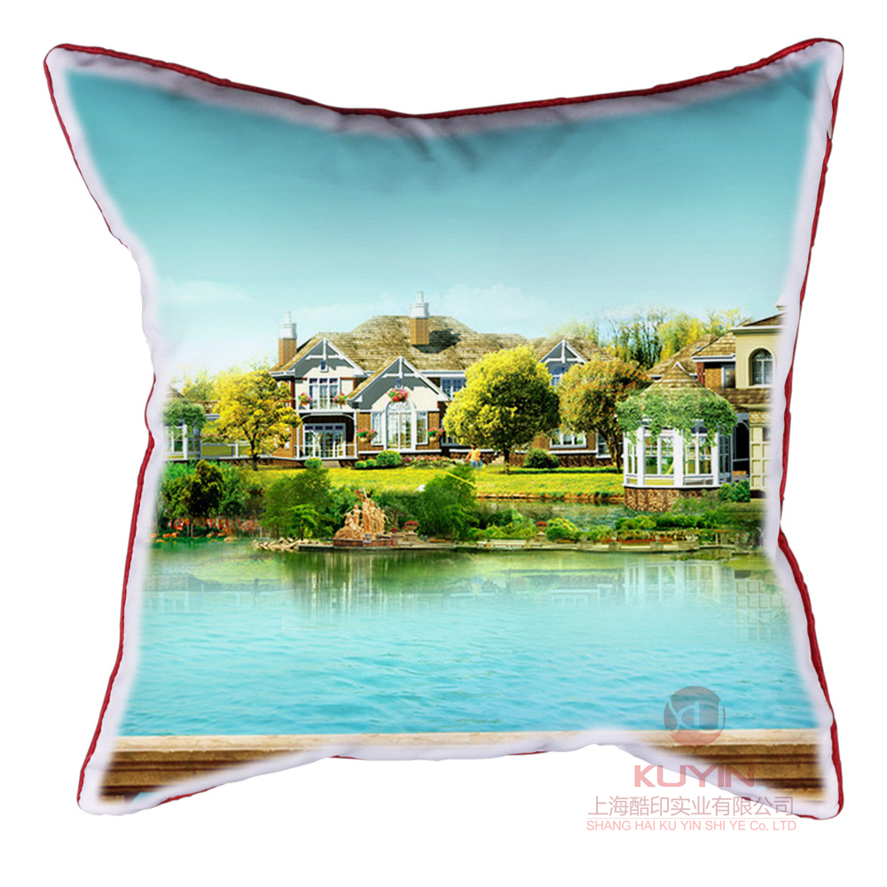 Creative diy custom personalized custom pillow satin pillow free custom printed photo teachers' day gift