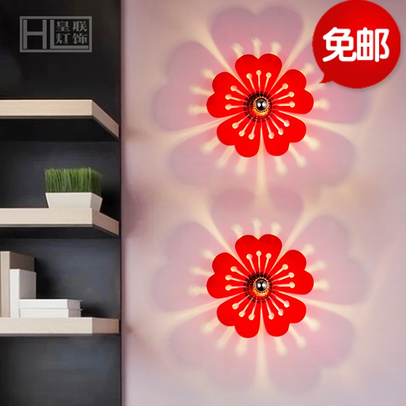 Creative wall lamp led acrylic staircase wall lamp wall lamp wall lamp bedside lamp bedroom wall lamp wall lamp cozy small wall sconce