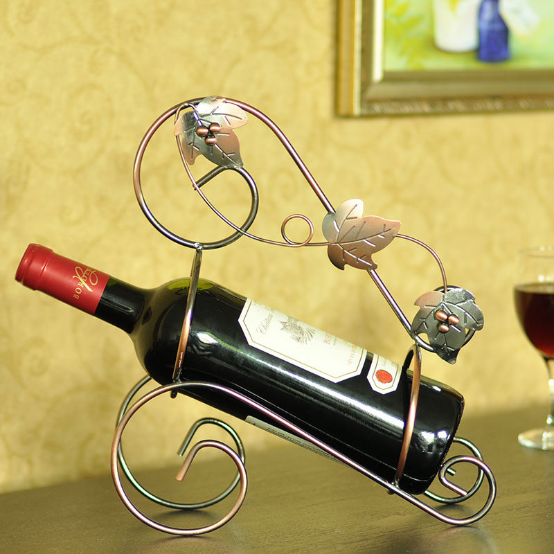 Creative wine rack wine cooler decorations living room decoration craft ornaments home furnishings modern european fashion simple