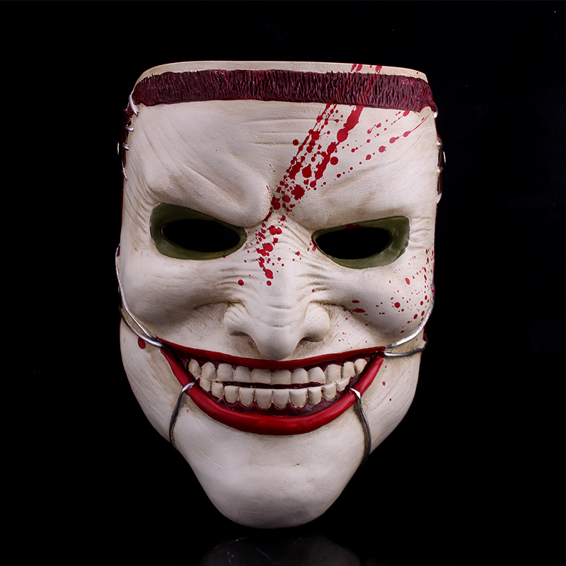 Creepy square halloween children's day children's toys movie theme mask horror mask dead dead family