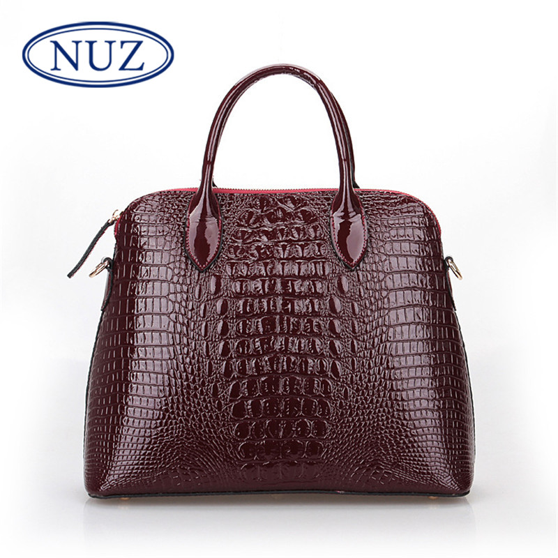 Crocodile nuz no. 2016 new single shoulder strap fashion handbags shell bag ladies bag fashion handbags 0015