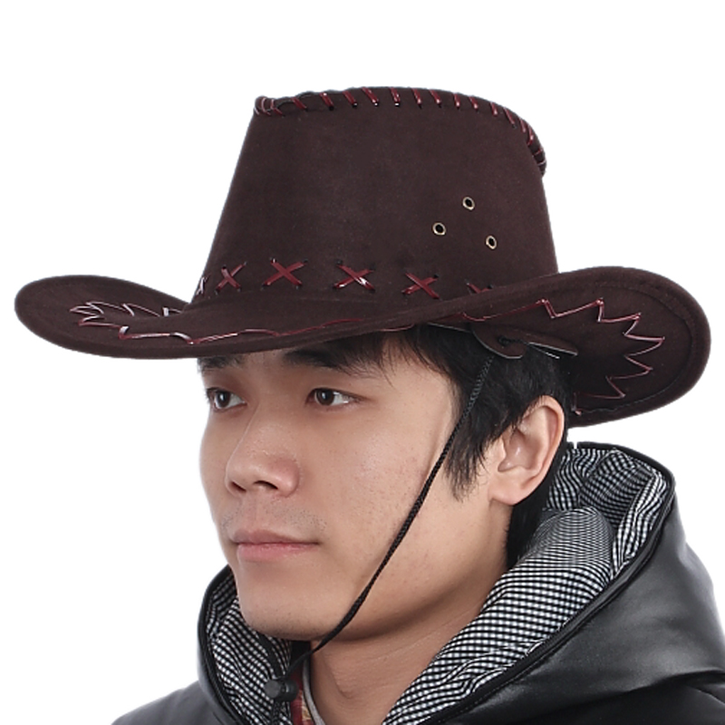 Get Quotations · Crown master american trend of cowboy hat cowboy hat  cowboy hat summer hats for men and 1d8b9fb6f1d
