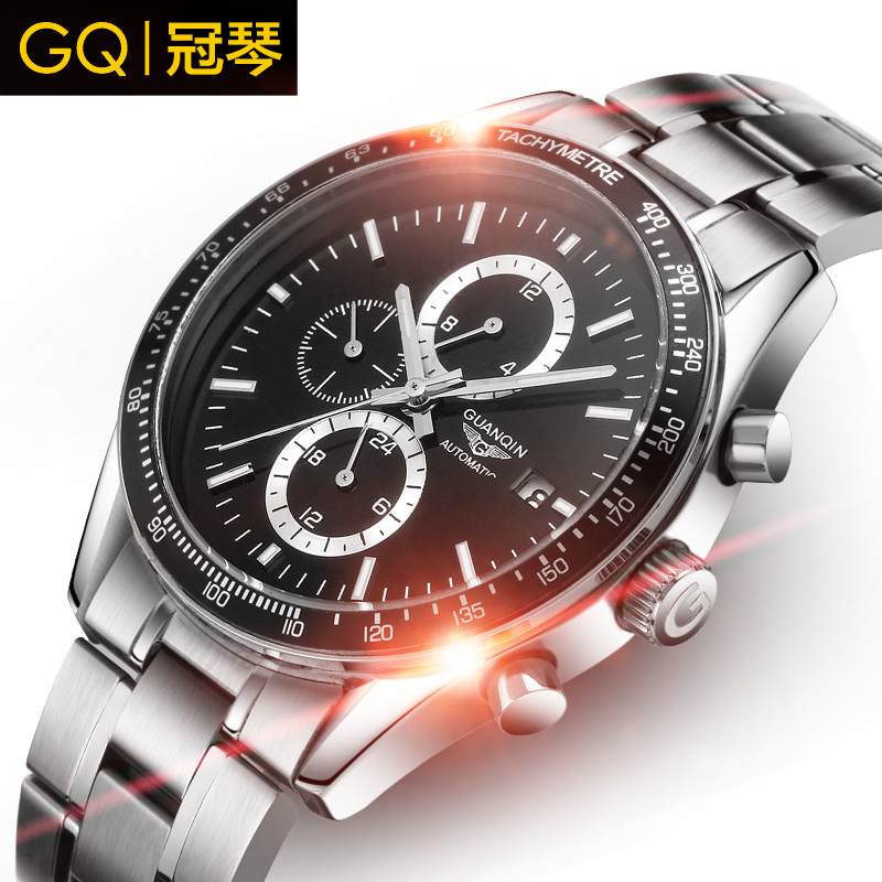 Crown piano authentic watches automatic mechanical watches men mechanical watches men watches luminous waterproof sports business men
