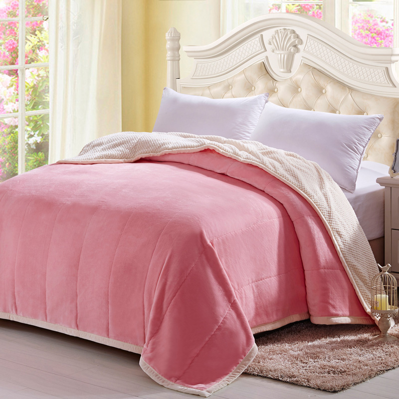 Crown princess blankets double thick blanket of winter blanket coral fleece blanket warm flannel sheets single double special offer