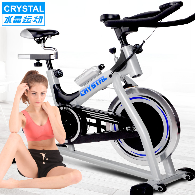 Crystal spinning exercise bike home exercise bike ultra quiet movement fitness equipment exercise bike indoor cycling shipping