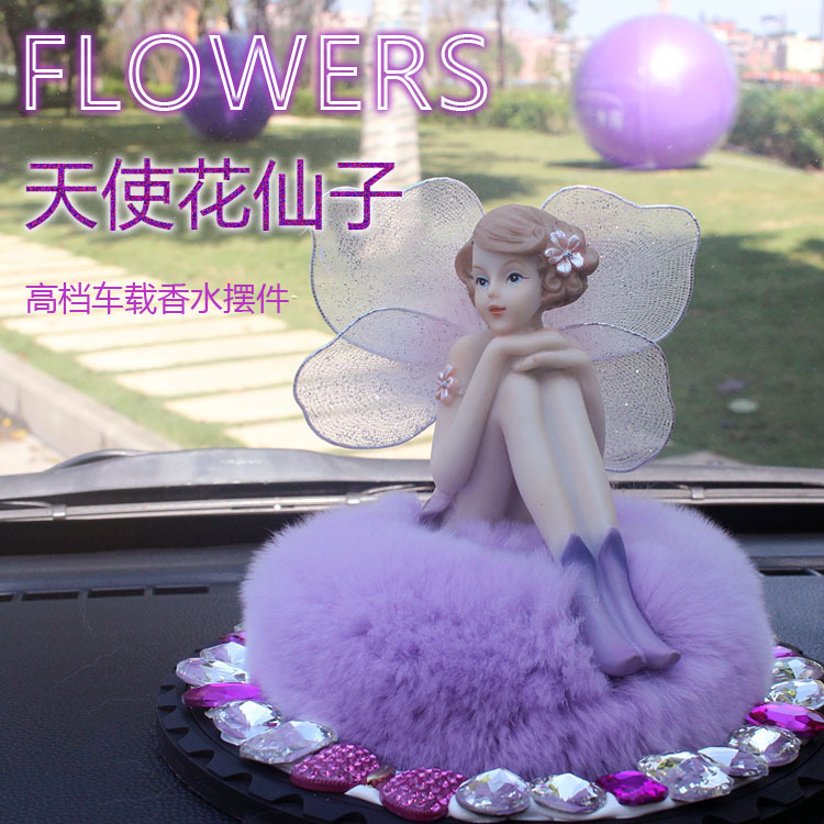 Crystal zodiac genuine perfume car seat car decoration car supplies supermarket car accessories car ornaments