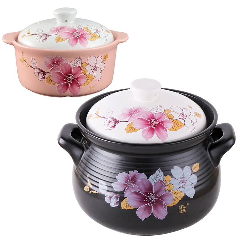 Cuckoo 6 l buy 1 to send 1 tangbao ceramic casserole stew pot soup porridge pot stew pot stew soup pot with gas Casserole