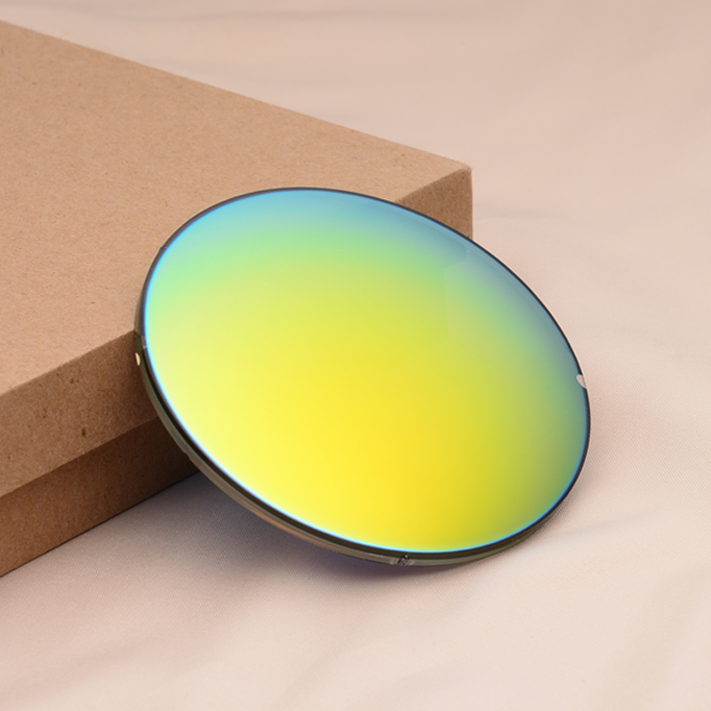 Custom color film myopia lens, for men and women colorful film colorful polarized lenses myopia myopic lens sunglasses