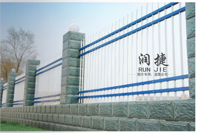 Custom galvanized guardrail electrostatic spray residential fence fence security fence fence fence fence antirust
