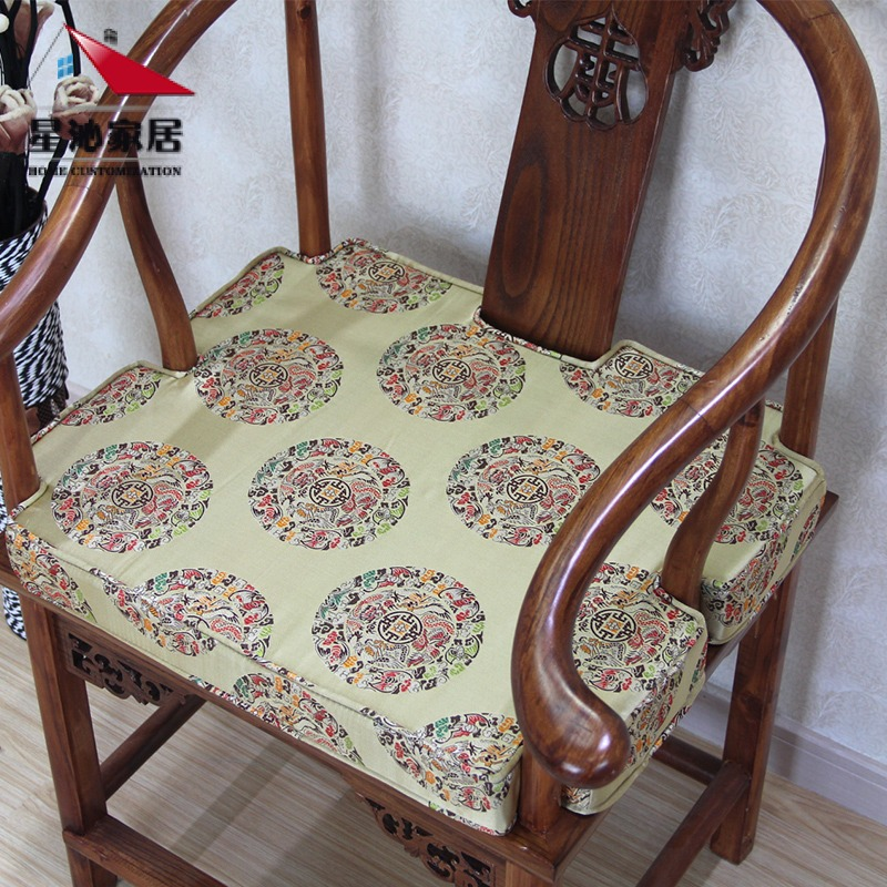 Customized sponge mahogany wood sofa cushion sofa cushion chair armchairs chinese wedding/rohan mattress